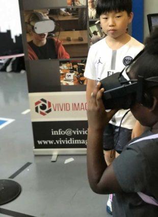 vivid imagination 3d xr education event